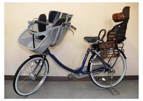 子供乗せ自転車が沖縄でも大活躍!近場はコレで移動してます。