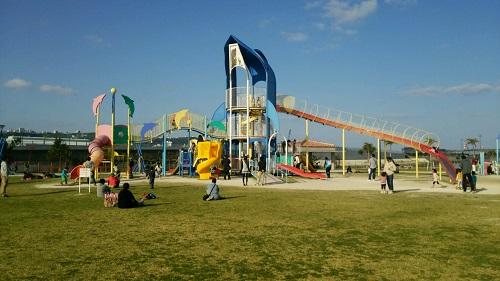 沖縄は小春日和?なので子供とイルカ公園へ行って来ました!