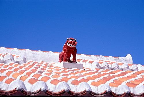 じつは屋根の上に乗ってるシーサーの下には○○があるんです!!