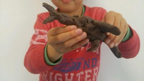 長男(6才)の粘土作品に「さかなくん」の可能性を見た!
