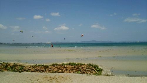 沖縄の穴場ビーチの1つ、浜比嘉島のムルク浜に行って来ました。