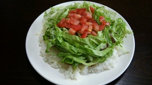 タコライスを沖縄移住して1年で初めて食べました!