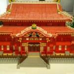世界平和を願い今回が3回目の展覧会「レゴブロック」で作った世界遺産展!