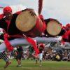 エイサーの時期がやって来た沖縄では、太鼓を練習する音が聞こえて来ました!