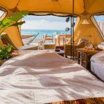 沖縄で新しい宿泊スタイルの「ビーチグランピング」が話題沸騰中!