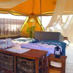 1日3組限定!無人島(ナガンヌ島)でグランピングが楽しめるプラン。