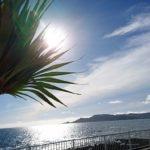 「沖縄の海と空にかこまれた暮らし」ブログのタイトルどおりの沖縄移住生活。