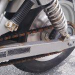 バイクのチェーンメンテナンスしていますか?