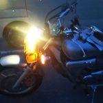 バイクのヘッドライトをLEDへカスタム